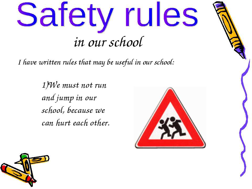 essays on following school rules Rules in school can keep students safe following rules keeps things organized everything is in place and everyone is safe so rules are what keep everything in what everything should be people might find it boring to follow rules but it's not they keep u safe and sound of everything.