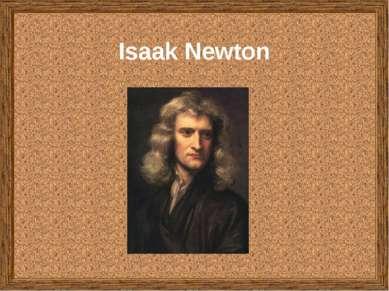 Isaak Newton