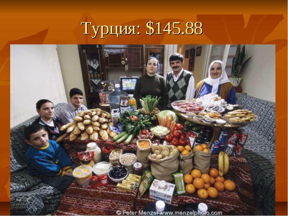 Турция: $145.88