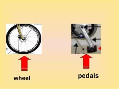 wheel pedals