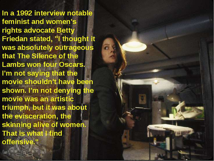 In a 1992 interview notable feminist and women's rights advocate Betty Frieda...