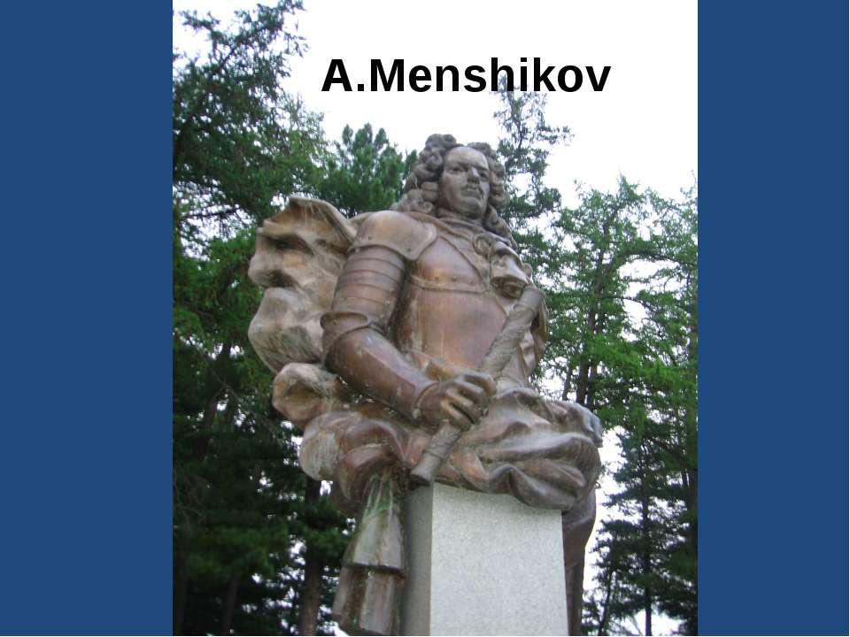A.Menshikov