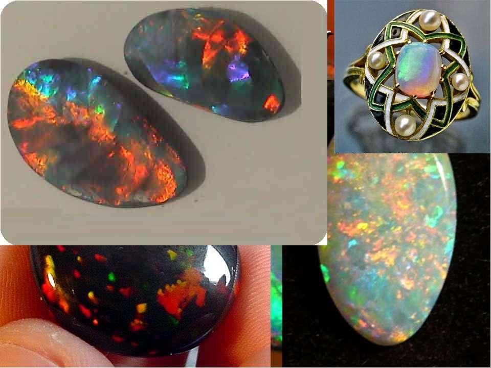 ОПАЛ Название минерала восходит от латинского слова opalus к санскритскому up...