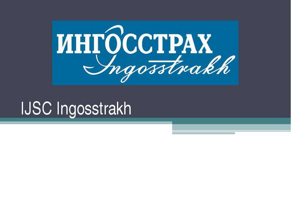 IJSC Ingosstrakh