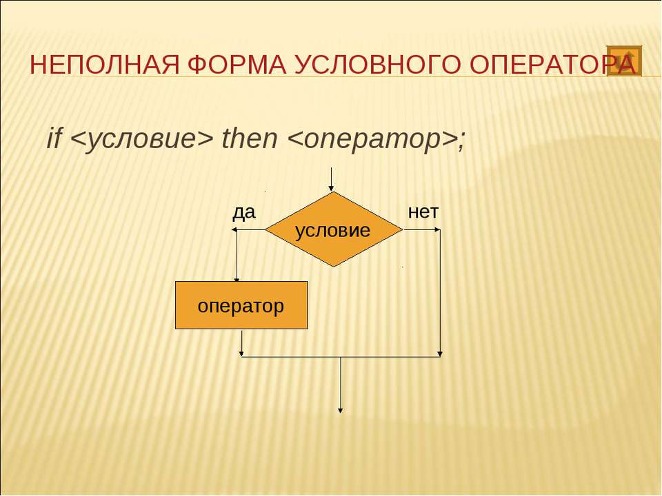 if <условие> then <оператор>; if <условие> then <операто...