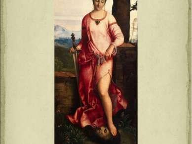 Джорджоне «Юдифь» 1504 г.