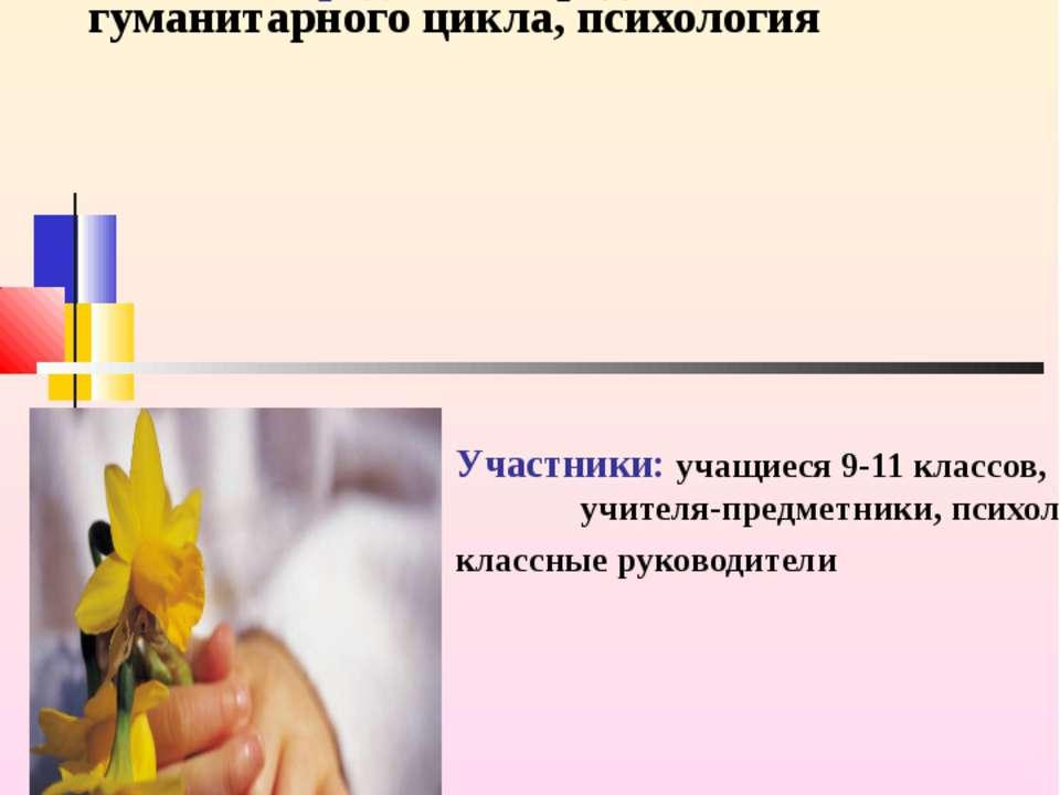 Учебная тема: Межличностные отношения. Правила поведения. Учебные предметы: п...