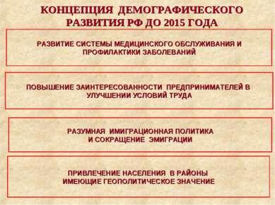 РАЗВИТИЕ СИСТЕМЫ МЕДИЦИНСКОГО ОБСЛУЖИВАНИЯ И ПРОФИЛАКТИКИ ЗАБОЛЕВАНИЙ ПОВЫШЕН...