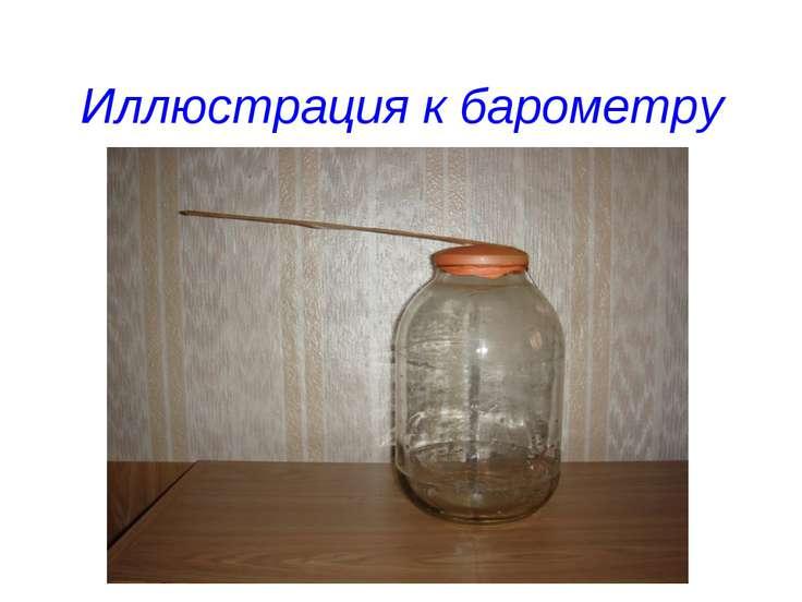 Иллюстрация к барометру