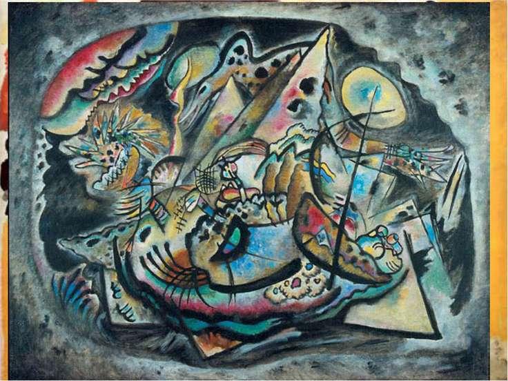 Из книги Кандинского «О духовном в искусстве» «Цвет – это клавиши; глаз – мол...