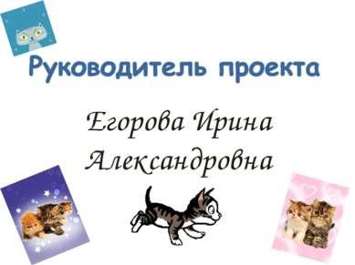Егорова Ирина Александровна