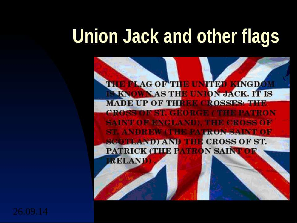 Union Jack and other flags