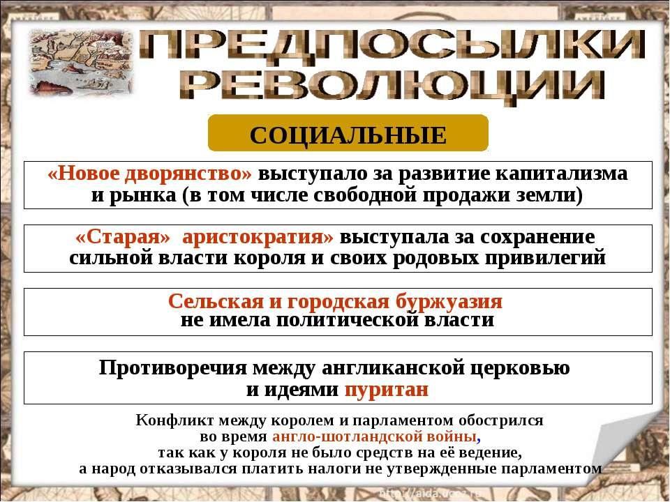 СОЦИАЛЬНЫЕ «Новое дворянство» выступало за развитие капитализма и рынка (в то...