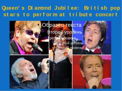Queen's Diamond Jubilee: British pop stars to perform at tribute concert