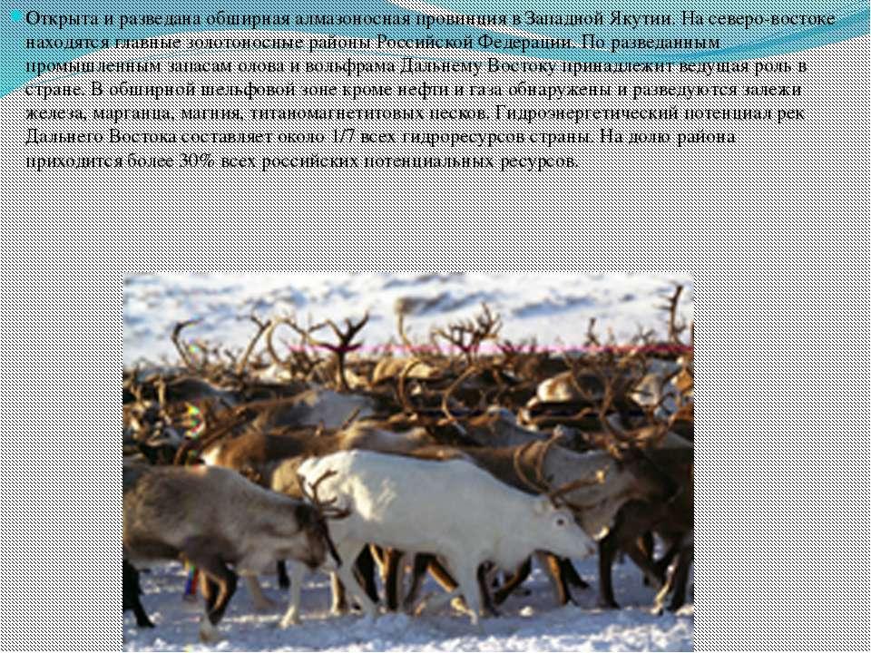 Открыта и разведана обширная алмазоносная провинция в Западной Якутии. На сев...