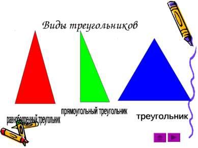Виды треугольников