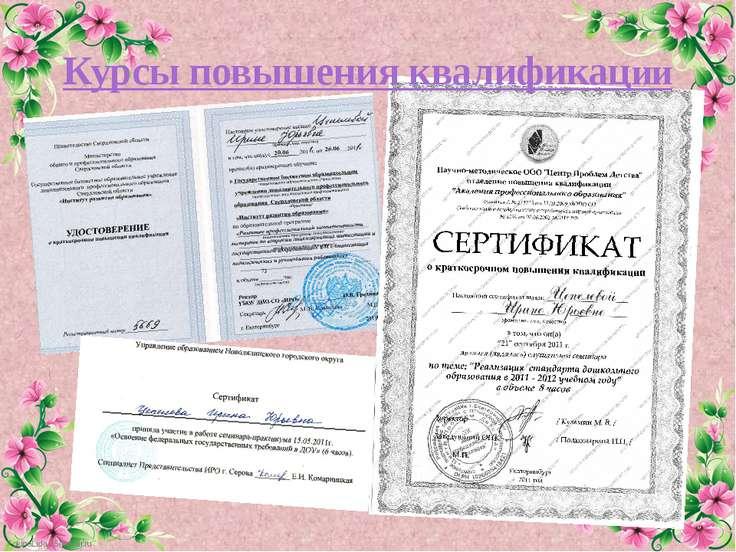Курсы повышения квалификации FokinaLida.75@mail.ru
