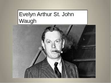 Evelyn Arthur St. John Waugh