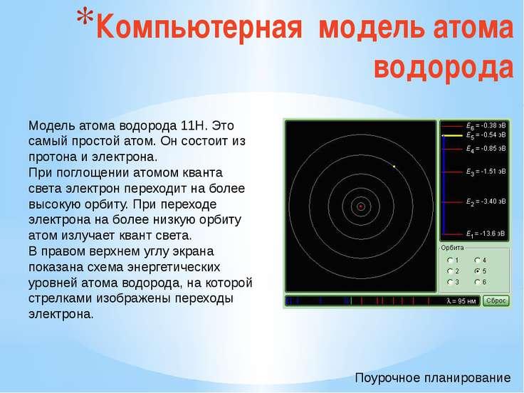 Атомное ядро Атомное ядро заряжено положительно. Его диаметр не превышает 10–...