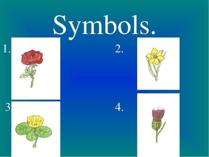 Symbols. 1. 2. 3. 4.