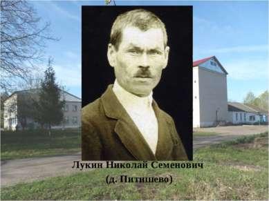 Лукин Николай Семенович (д. Питишево)