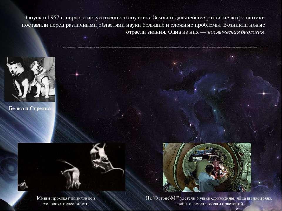 Запуск в 1957 г. первого искусственного спутника Земли и дальнейшее развитие ...