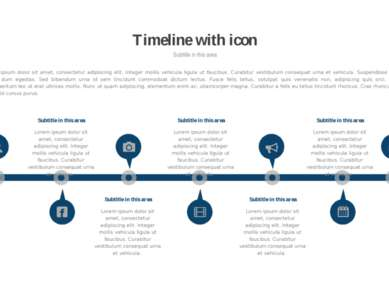 * Timeline with icon Subtitle in this area Lorem ipsum dolor sit amet, consec...