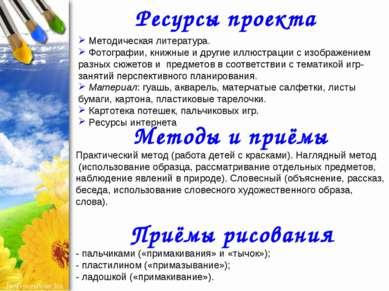 Ресурсы проекта Методическая литература. Фотографии, книжные и другие иллюстр...