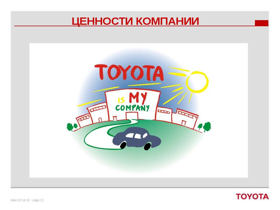 ЦЕННОСТИ КОМПАНИИ date - page To create a Quote Slide… Copy and paste this sl...