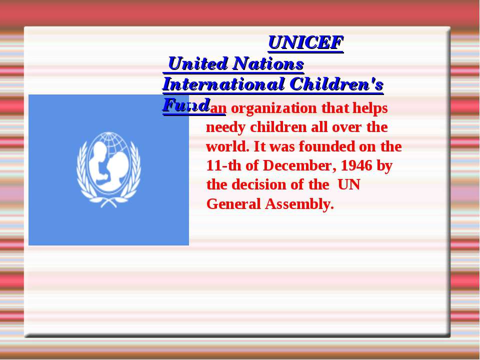 the need for the united nations The united nations human rights organ should improve their coordination, efficiency and effectiveness the world conference make stresses the need for the implementation of strengthened advisory services and technical assistance activities by centre of human right.