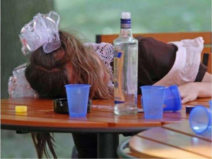 Детский алкоголизм - это стартовая площадка для взрослого алкоголизма и корот...