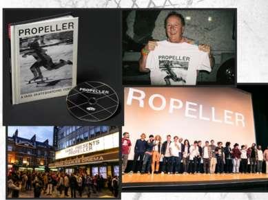 2015 Релиз полнометражного скейт видео Propeller Запуск сайта Vans.ru