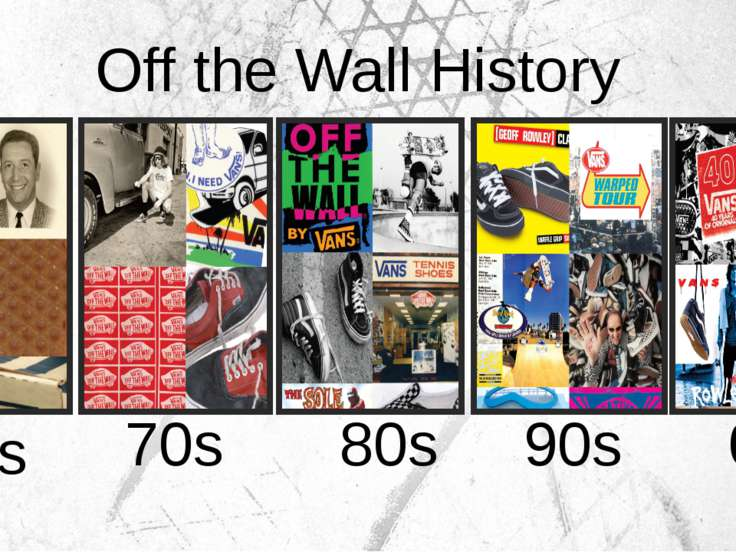 60s 70s 80s 90s 00s Off the Wall History
