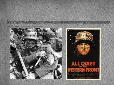 Прославил Ремарка его третий роман «На западном фронте без перемен», который ...