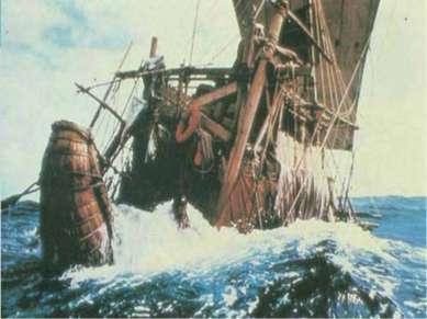 судов, построенных из лёгкого камыша, успех экспедиции «Ра-II» был расценён к...