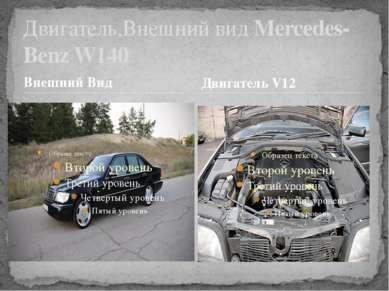 Внешний Вид Двигатель,Внешний вид Mercedes-Benz W140 Двигатель V12