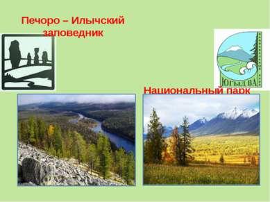 Печоро – Илычский заповедник Национальный парк Югыд Ва