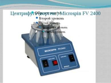 Центрифуга (вортекс) Microspin FV 2400