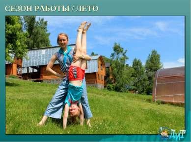 СЕЗОН РАБОТЫ / ЛЕТО