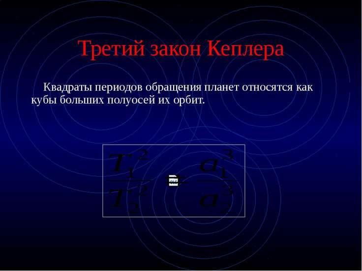 Картина мира по Кеплеру