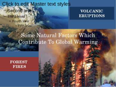 Some Natural Factors Which Contribute To Global Warming VOLCANIC ERUPTIONS FO...