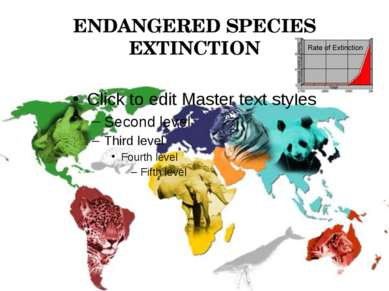 ENDANGERED SPECIES EXTINCTION