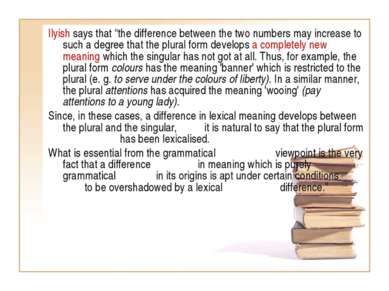 "Ilyish says that ""the difference between the two numbers may increase to such..."