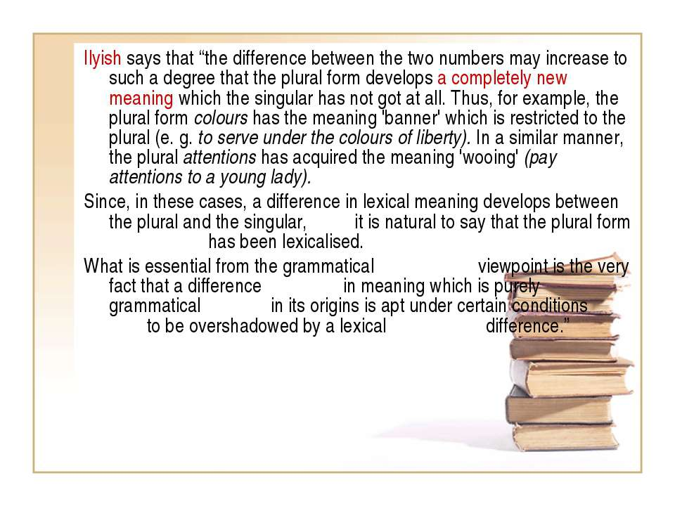 """Ilyish says that """"the difference between the two numbers may increase to such..."""