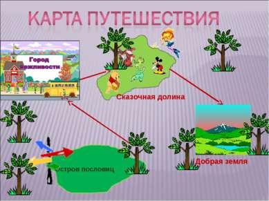 Остров пословиц Сказочная долина Добрая земля