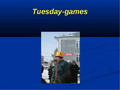 Tuesday-games