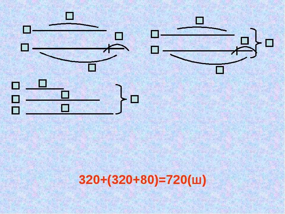 320+(320+80)=720(ш)