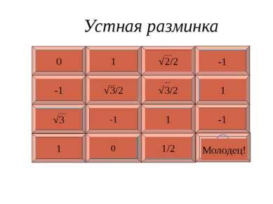 Назовите функции, графики которых изображены на рисунке. y = cosx Построение ...
