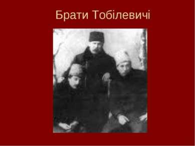 Брати Тобілевичі