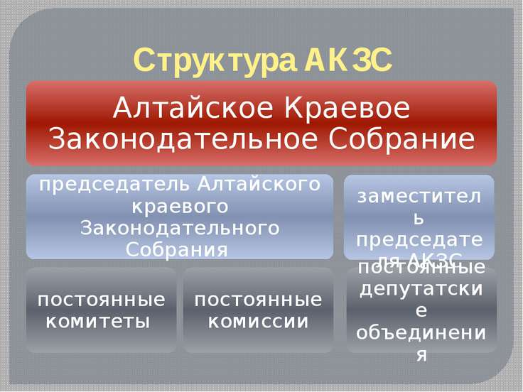 Структура АКЗС